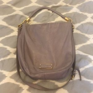 Marc Jacobs Take Your Marc Leather Hobo Bag